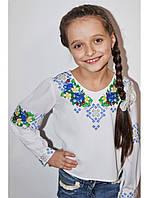 Вышитая рубашка для девочки 04
