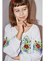Сорочка вышитая для девочки 01