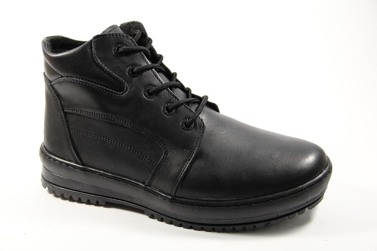 Мужские ботинки из натуральной кожи WAL 46 BL