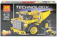 Конструктор Lele 38002 Technology Карьерный самосвал 2в1 (аналог Lego Technic 42035)