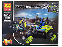 Конструктор Lele 38001 Technology Внедорожник Формула 2в1 (аналог Lego Technic 42037)