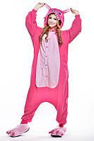 Пижама кигуруми, Стич (розовый)