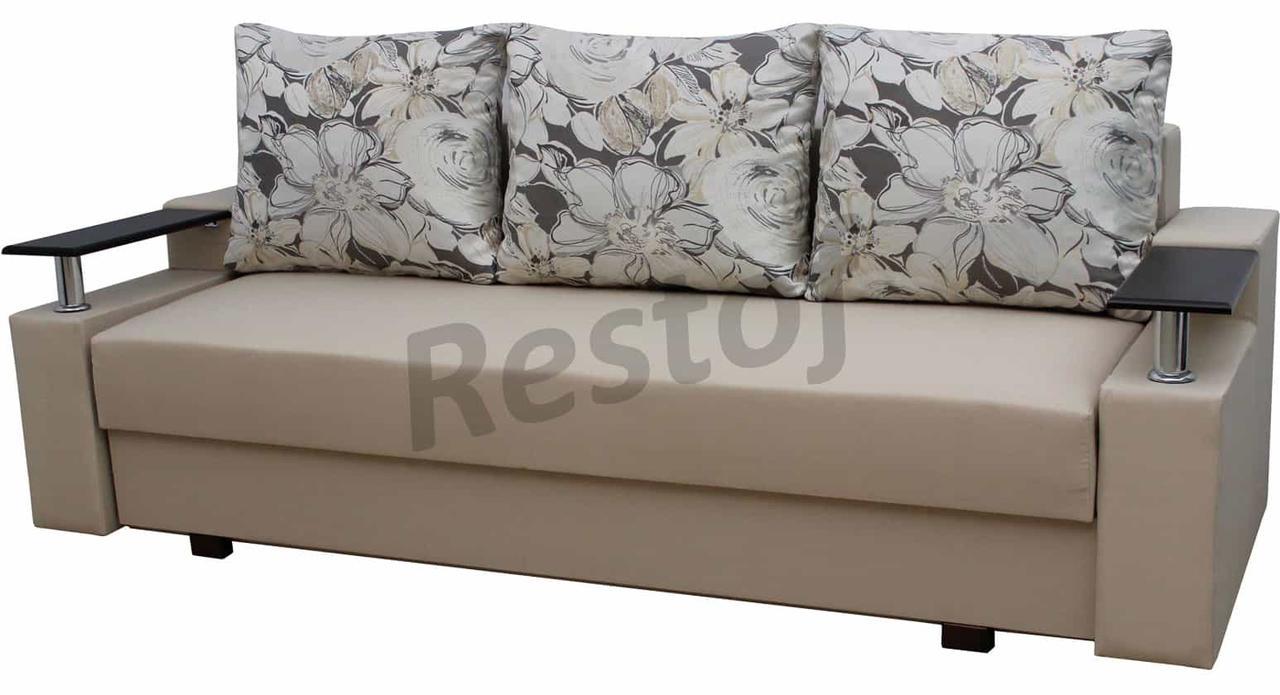прямой диван еврокнижка 2 от фабрики мебель софиевки механизм