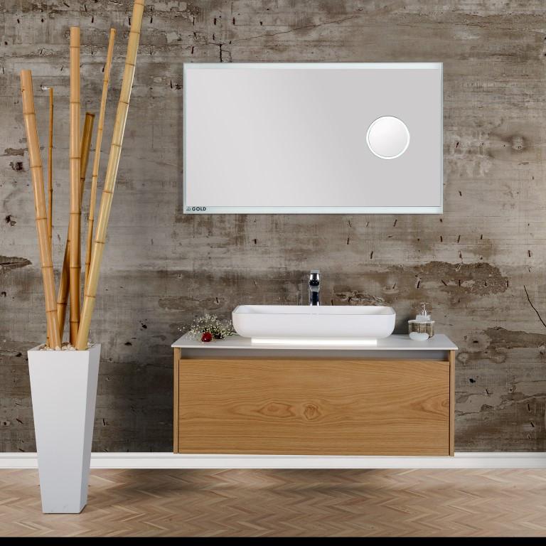 """Комплект мебели для ванной GOLD Ban-Yom """"Hera"""", 1200х520х530 мм"""