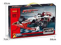 Конструктор Decool 3366 Гоночный автомобиль Гран-при 2в1 (аналог Lego Technic 42000)