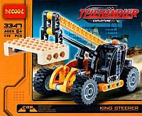 Конструктор Decool 3347 Telehandler/Телескопический погрузчик2в1 (аналог Lego Technic 8045)