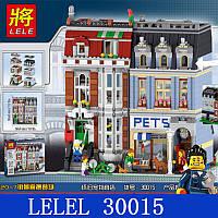 Конструктор серии Lele 30015 Зоомагазин (АналогLEGO Exclusive 10218)