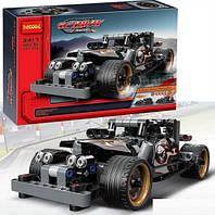 Конструктор Decool 3417 Гоночный автомобиль для побега (аналог Lego Technic 42046)