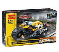 Конструктор Decool 3419 Мотоцикл для трюков (аналог Lego Technic 42058)