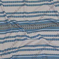 Ткань с украинской вышивкой Виолетта ТДК-65 1/2