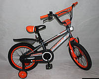 """Детский велосипед Crosser  Sports 14"""" (с родительской ручкой)"""