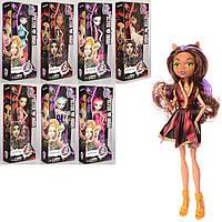 Кукла Monster High Монстр Хай 1003 с сумочкой, 8 видов: размер 27см, шарнирная