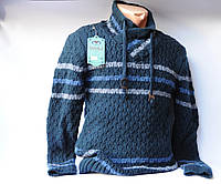 Свитер мужской пуловер шерсть Турция Vangola