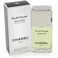 Мужская туалетная вода Chanel Egoiste Platinum EDT 100 ml (лиц.)
