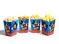 """Коробки для попкорна """"Микки Маус"""" В упак. 5 шт."""