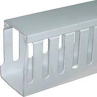 Короб пластиковый перфорированный e.trunking.perf.stand.100.50, 100х50мм, 2м