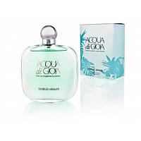 Женская парфюмированная вода Armani Aqua di Gioia Satin Edition EDP 100 ml (лиц.)