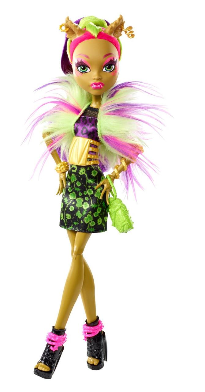 Кукла Монстер Хай Кловенера Слияние монстров(Monster High Clawvenus Freaky Fusion)  - Интернет-магазин Kidi-land в Белой Церкви