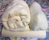 Комплект чехол на кушетку, плед и подушка флисовые
