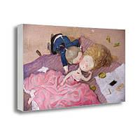 Картина с принтом на холсте Гапчинская Влюбленные