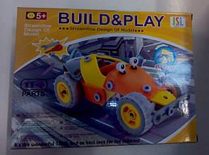 Коструктор Build&Play JSL з викрутками 114дет