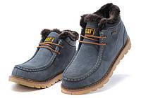 Caterpillar Winter Boots Blue, фото 1