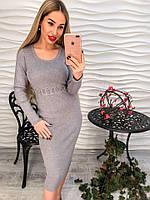 Платье женское со шнуровкой