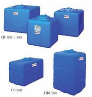Накопительный бак для воды и других жидкостей ELBI CB 100, емкость 100л, прямоугольный