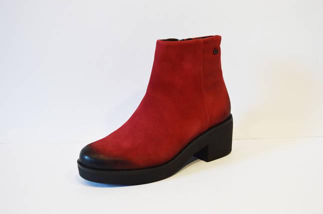 Женские красные ботинки Laura Messi 1600, фото 2