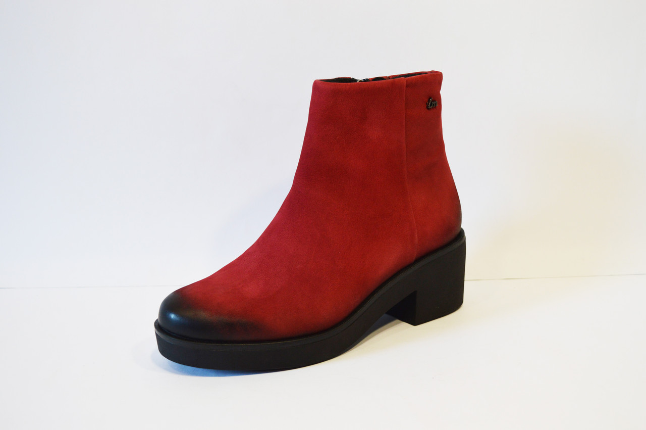 Женские красные ботинки Laura Messi 1600
