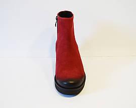 Женские красные ботинки Laura Messi 1600, фото 3