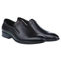 Мужские кожаные туфли Basconi E205853-1