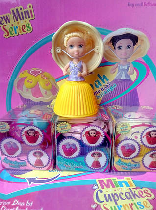 "Кукла-Кекс ""Cupcake Surprise"" мини с запахом (уп.12), фото 2"