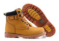 Ботинки Caterpillar Second Shift Boots Yellow, фото 1