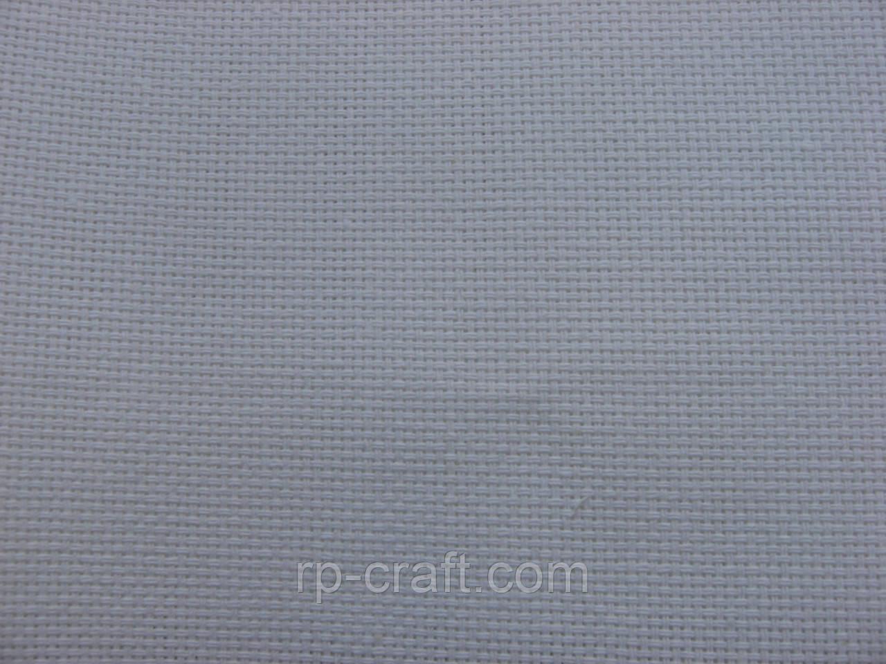 Отрез ткани для вышивки. Двунитка для хардангена, белая, 38х45 см