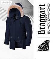 Braggart 'Black Diamond' 3781   Зимняя парка темно-синяя