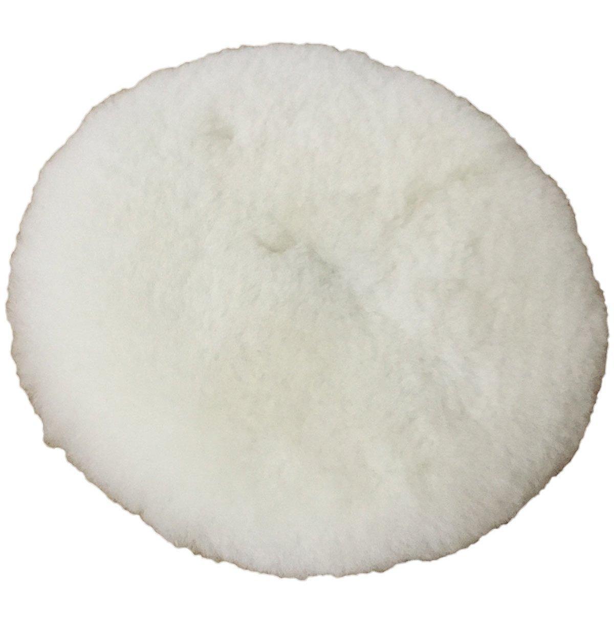 Полировальный круг лама - Koch Chemie Lammfell-Pad mit loch 150 мм. белый (999286)