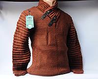 Свитер мужской, пуловер шерсть Турция Vangola