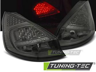 Фонари стопы тюнинг оптика Ford Fiesta MK7 (08-12) тонированные