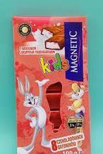 Шоколад  Мagnetic Kids клубника 100g
