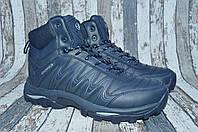 Зимние кожаные мужские ботинки Bona Бона