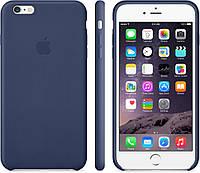 """Оригинальный силиконовый чехол для Apple iPhone  6/6s Soft Touch (4.7"""") Темно-синий"""