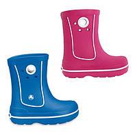 Сапоги резиновые детские Crocs Kids Crocband Jaunt Boot / дождевики с кружочком