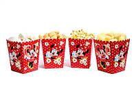 """Коробки для попкорну """"Мінні Маус"""" В пак. 5 шт."""