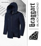 Braggart 'Black Diamond' 4052   Мужская парка темно-синий
