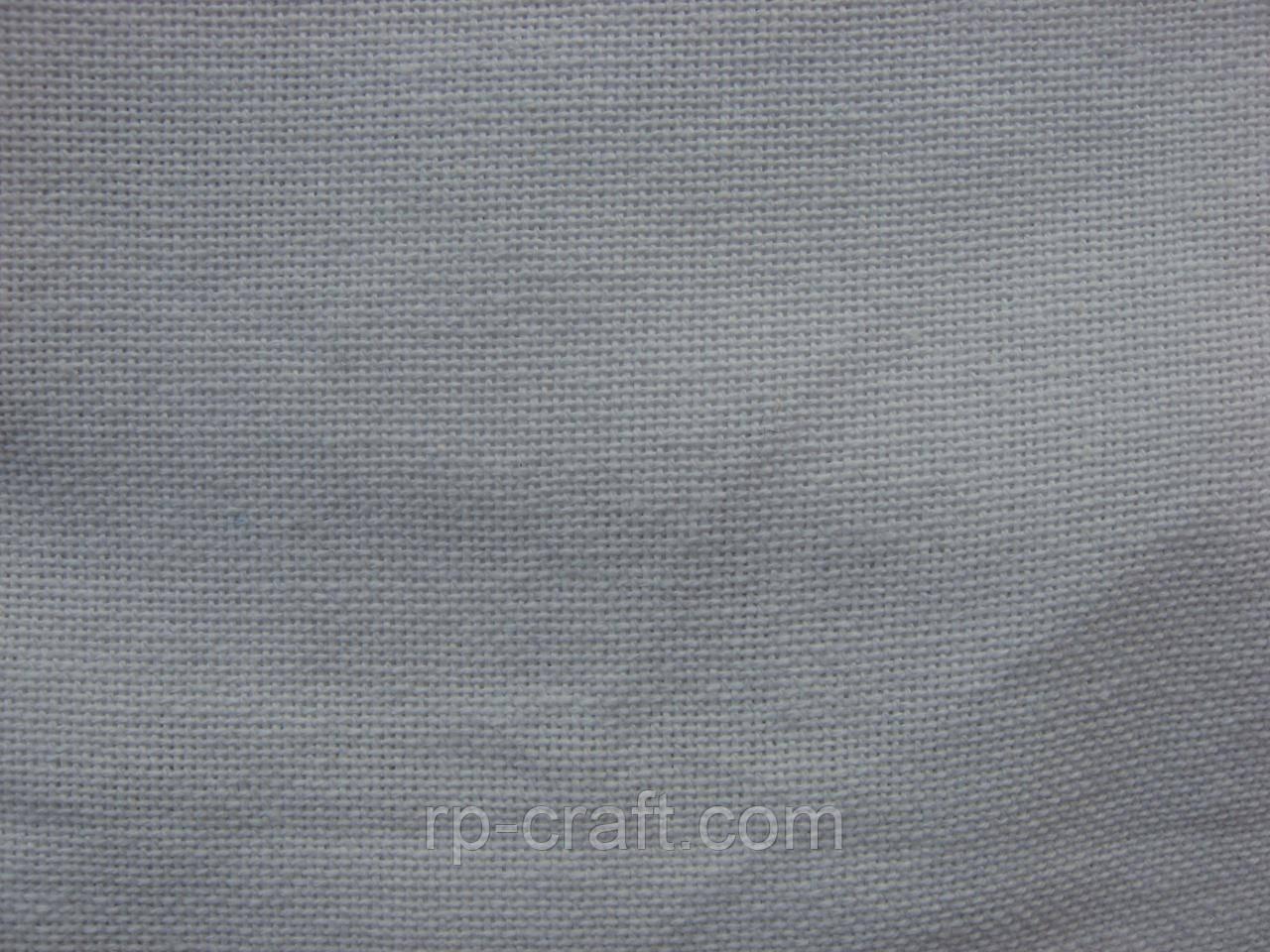 Отрез ткани для вышивки. Рушныковое полотно, белое, 37х50 см