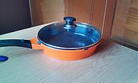 Сковородка мраморно-гранитная  Австрия диаметр 24 см
