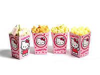 """Коробки для попкорну """"Hello Kitty"""" В пак. 5 шт."""