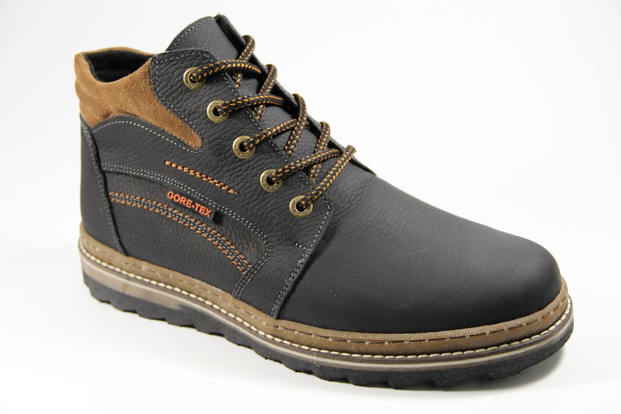 Мужские ботинки из натуральной кожи WAL 46 BR