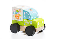 """Машинка """"Экспресс-мороженое LM-8"""" Cubika (5 деталей)"""
